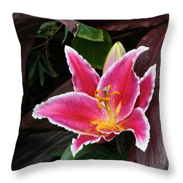 Heart Of Gold Throw Pillow by Byron Varvarigos