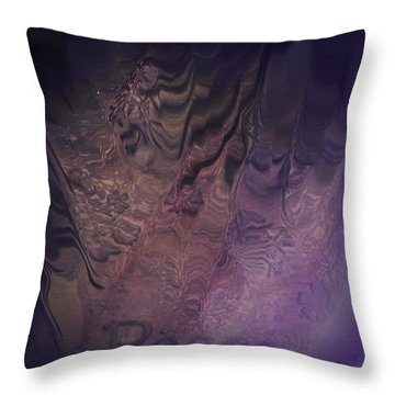 Heart Of Peace Throw Pillow by Trish Tritz