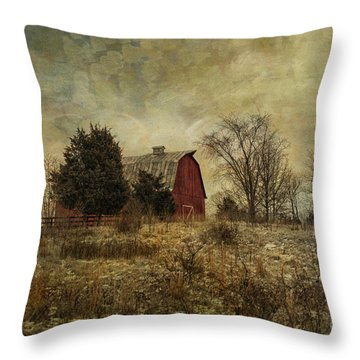 Heart Of The Farm Throw Pillow