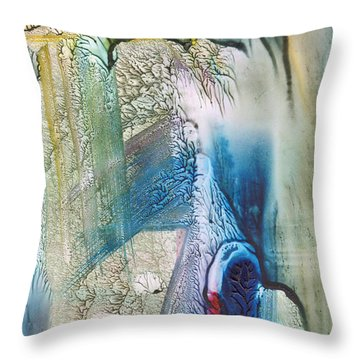 Heart Of The Matter Throw Pillow by Mickey Krause