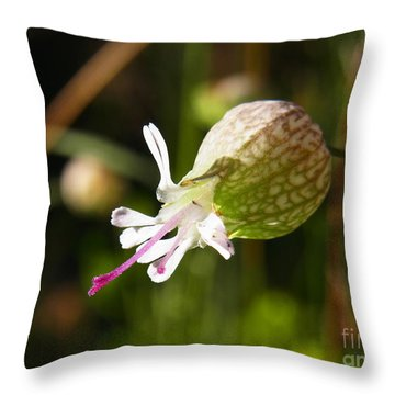 Throw Pillow featuring the photograph Heart On Tongue by Agnieszka Ledwon