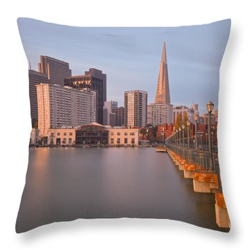 Throw Pillow featuring the photograph Heart San Francisco by Jonathan Nguyen