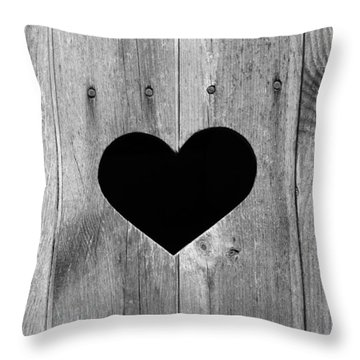Vintage Toilet Sign Throw Pillow
