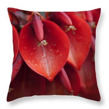 Heart Shaped - I Throw Pillow