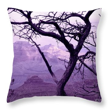Heart Tree Throw Pillow
