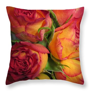 Heartbreaking Beauty Throw Pillow
