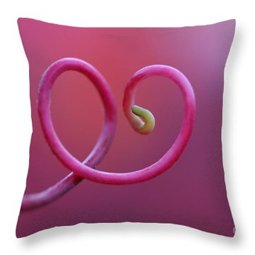 Heartfelt  Throw Pillow by Maria Ismanah Schulze-Vorberg