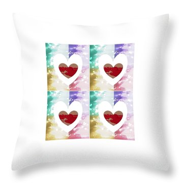 Heartful Throw Pillow