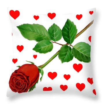 Love Notes Throw Pillows