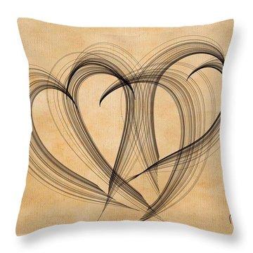 Hearts Of Plenty Throw Pillow