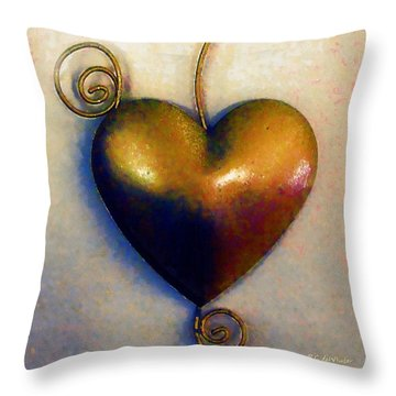 Heartswirls Throw Pillow