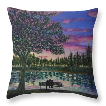 Heartwell Park Throw Pillow