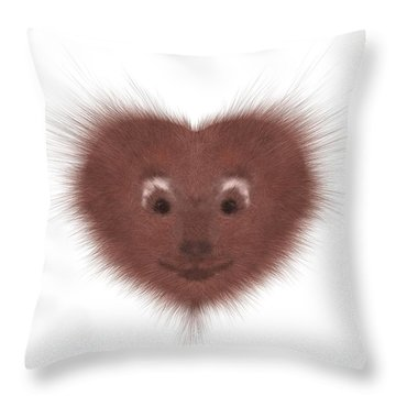 Hearty Beast 1 Throw Pillow