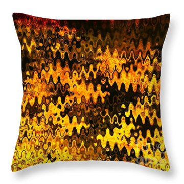 Throw Pillow featuring the photograph Heat by Anita Lewis