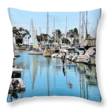 Heat Relief  Throw Pillow