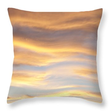 Heat Waves Throw Pillow
