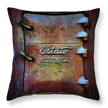 Heatarola Throw Pillow by Newel Hunter