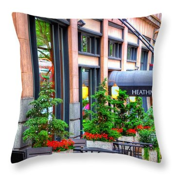 Heathman Restaurant 17368 Throw Pillow