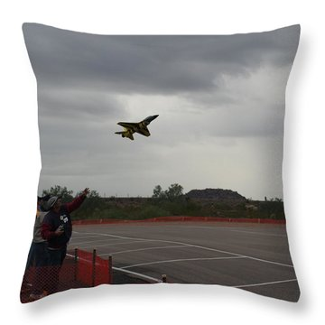 Heave Throw Pillow