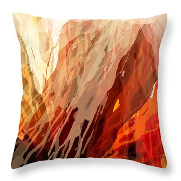 Heaven And Hell Throw Pillow by Matt Lindley