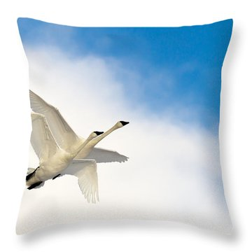 Heaven Born Throw Pillow