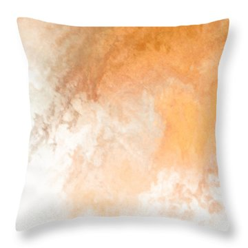 Heaven II Throw Pillow