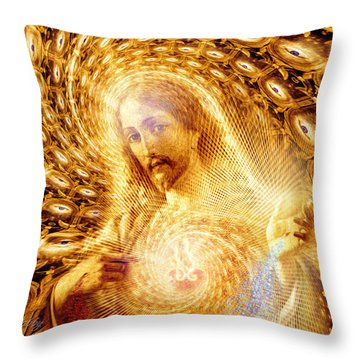 Heaven Is Within Throw Pillow by Robby Donaghey