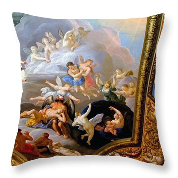 Throw Pillow featuring the photograph Heaven by Meaghan Troup
