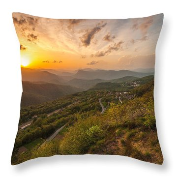 Heaven On Earth Throw Pillow by Davorin Mance