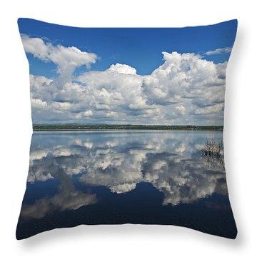 Heaven On Earth... Throw Pillow