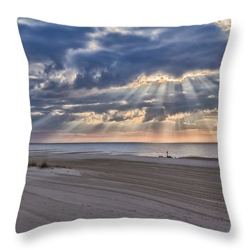 Heavenly Throw Pillow by Brian Wright