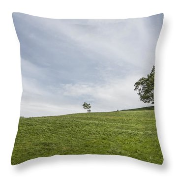 Heavenly Days Throw Pillow