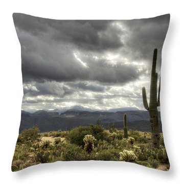 Heavenly Desert Skies  Throw Pillow