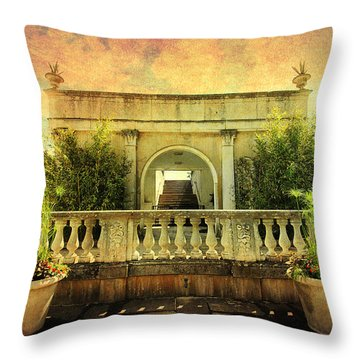 Heavenly Gardens Throw Pillow