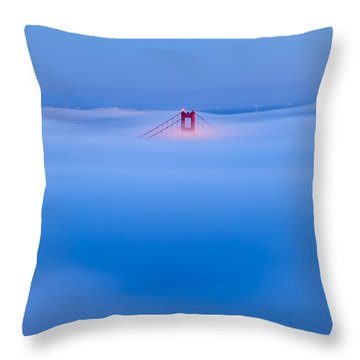 Heavenly Gate Throw Pillow