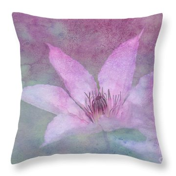 Heavenly Petals Throw Pillow by Betty LaRue