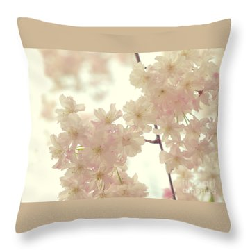 Throw Pillow featuring the photograph Heavenly... by Rachel Mirror