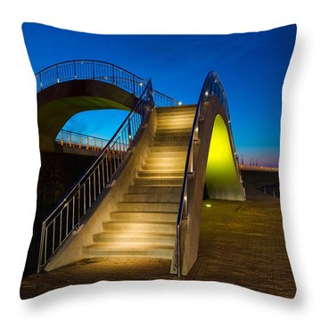 Heavenly Stairs Throw Pillow by Chad Dutson