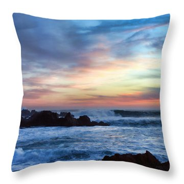 Heavenly Sunset Throw Pillow