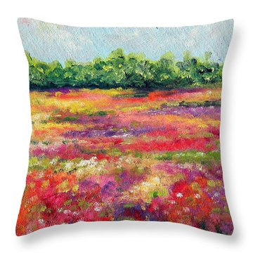 Heaven's Breath Throw Pillow