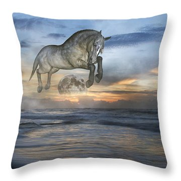 Heavens In The Sky Throw Pillow