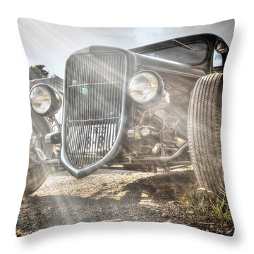 Heavens Model T Throw Pillow