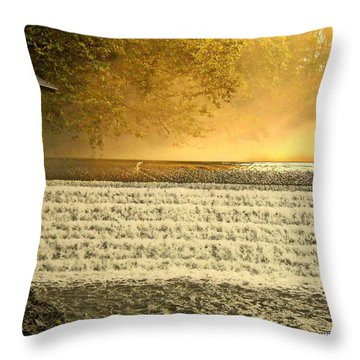 Heaven's Rays Throw Pillow