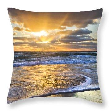 Heaven's Skylight Throw Pillow