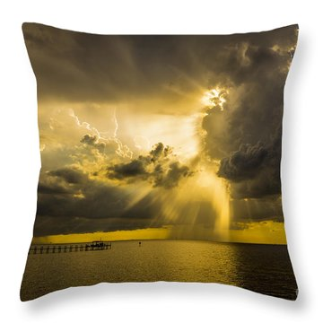 Heavens Window Throw Pillow