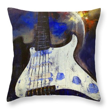Heavy Metal Throw Pillow by Michael Creese