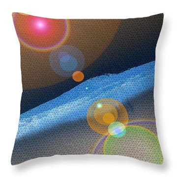 Heck If I Know  Throw Pillow by Jeff Swan