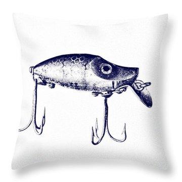 Heddon River Runt  Throw Pillow by Scott Pellegrin