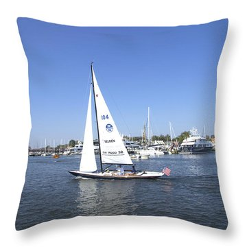 Heeling Throw Pillow