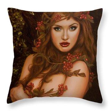 Hegemone Throw Pillow